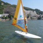 夏休みにウインドサーフィン体験「かまくらマリン学校2015」開校