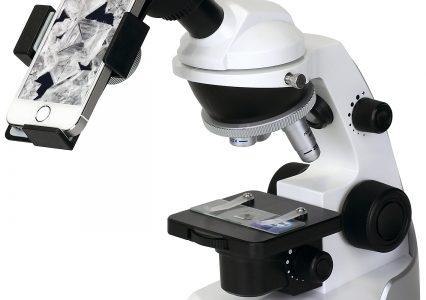 【夏休みの自由研究を応援】スマートフォンを取付可能な顕微鏡発売!