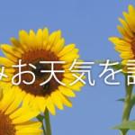 [2016年]絵日記おたすけ!夏休みのお天気調べることができるサイト