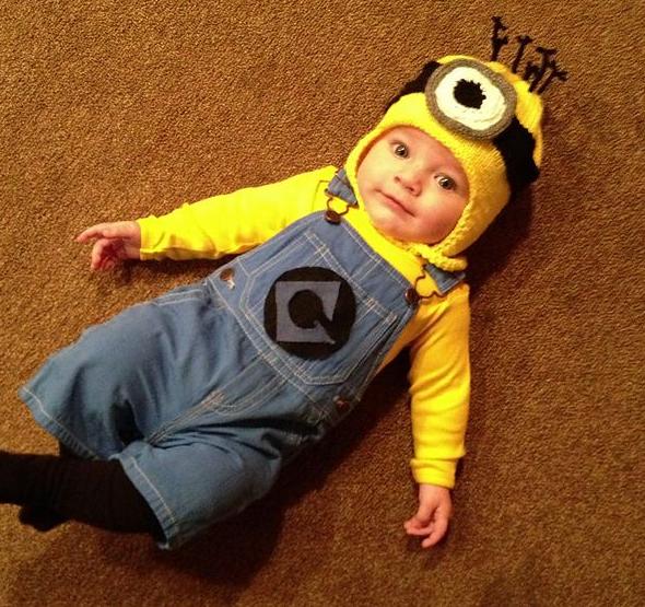 夏に映画『ミニオンズ』が公開されたこともあり、今年のトップコスチュームかも!?赤ちゃんから大人まで仮装しやすいキャラクターです。