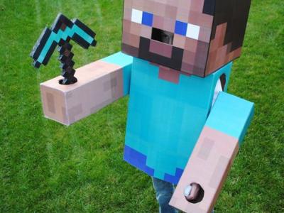 今年のハロウィンはコレ!『マインクラフト(Minecraft)』おもしろ仮装アイデア