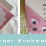本が読みたくなる♪可愛い『しおり』 コーナーブックマークの作り方アイデア&テンプレート
