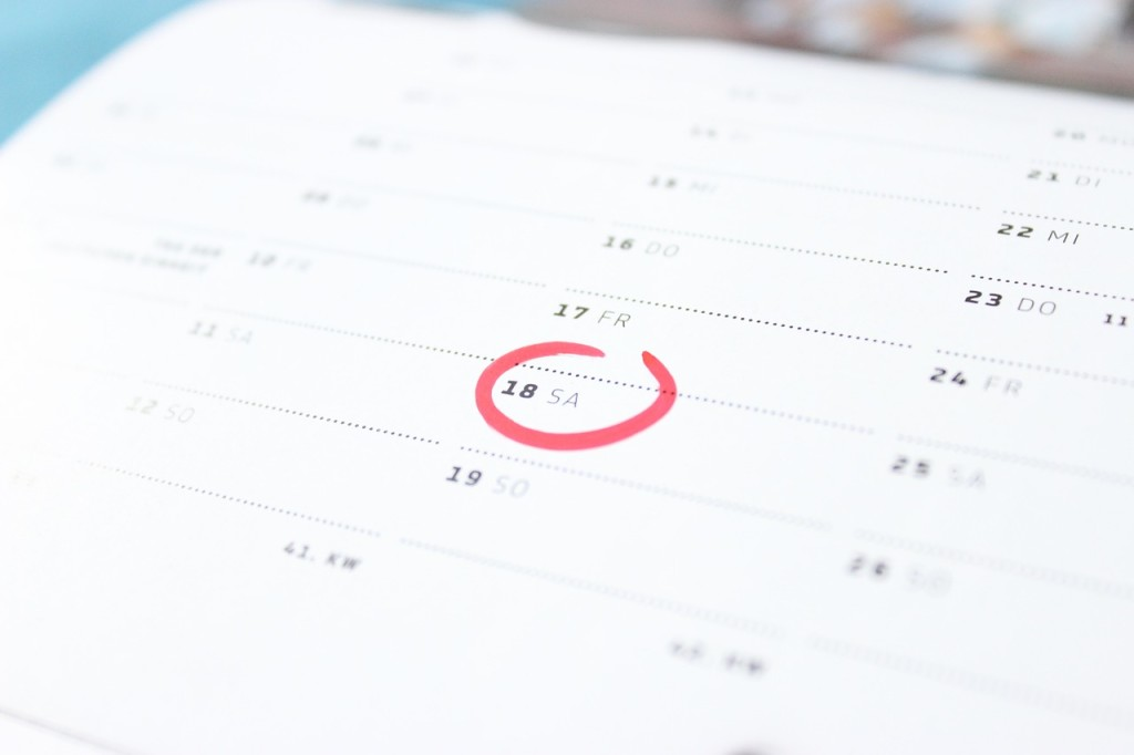 2020年シンプルなカレンダーがダウンロードできるサイト