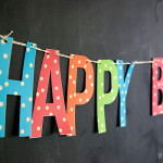 1歳のお誕生日♡マネしたい飾り付けアイデア&ペーパーアイテム無料ダウンロード