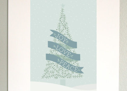 """超簡単!クリスマスの飾り付けアイデア♡可愛くておしゃれな""""無料""""クリスマスポスターで部屋をワンランクアップ♡"""