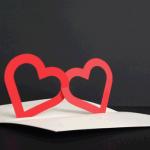可愛い♡ポップアップバレンタインカードのテンプレートが無料ダウンロードできるサイト